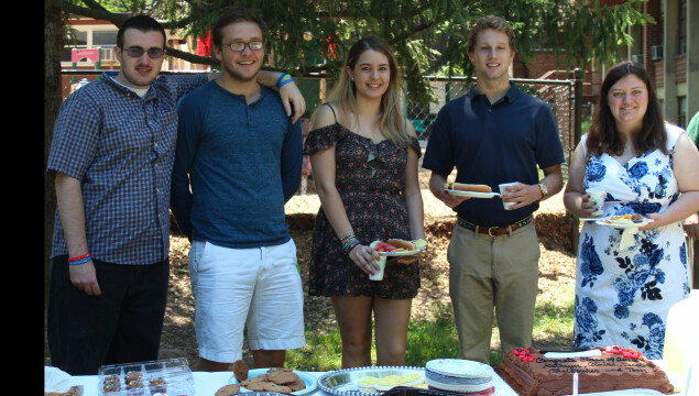 Sunday School Picnic with our graduating students