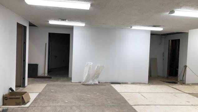 Renovations Continue!