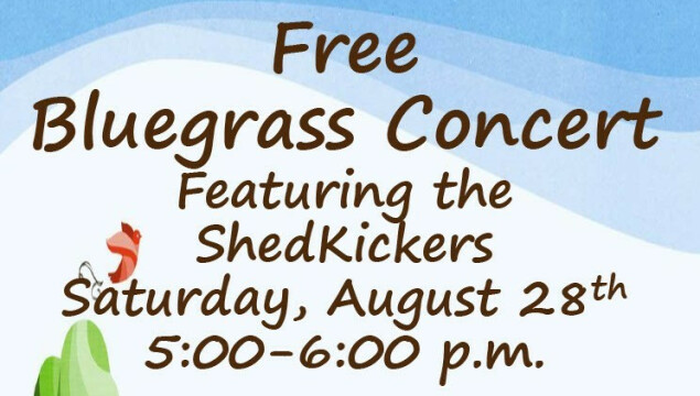 Bluegrass coming to St. Dunstan's August 28